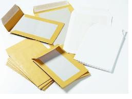 Пакеты с картонной стенкой, пакеты из картона с одной стороны